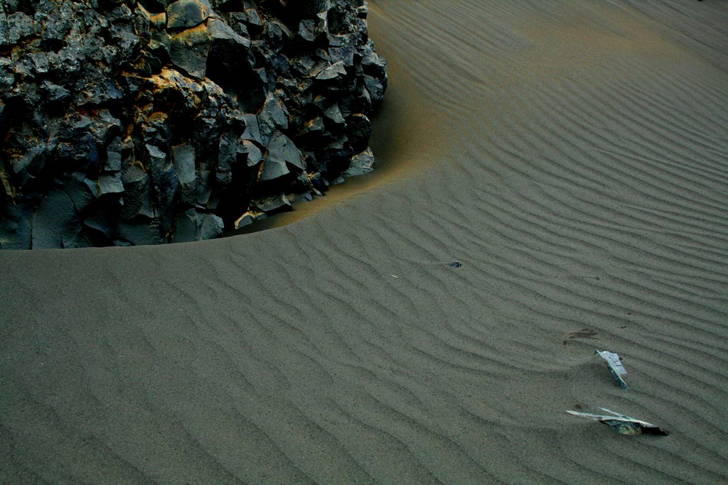 תמונת אדמה צחיחה באיסלנד